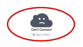 How To Fix Can't Connect-Tap to Retry Error In Facebook App||Android