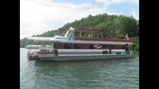 1995 Lakeview 15 x 68WB Houseboat For Sale on Norris Lake TN - SOLD!