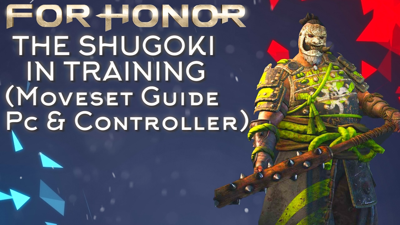 for honor pc how to use controller