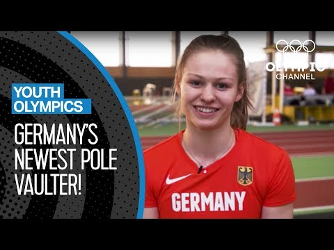 Pole Vault Training with Germany's Newest Talent | Youth Olympic Games