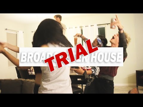 Broadcaster Trial House Trailer