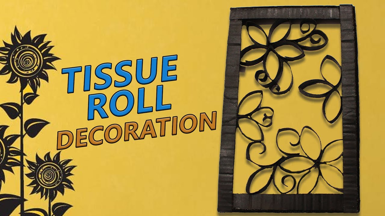 DIY Tissue roll crafts / Recycle tissue paper roll into beautiful ...