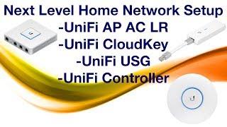 Bir sonraki seviye ev ağı Kur - CloudKey UniFi - AP - USG Kurulum ve İnceleme
