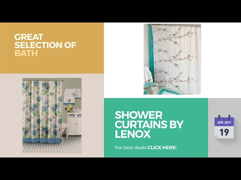 Shower Curtains By Lenox Great Selection Of Bath Products