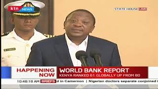 President Uhuru says the media sets agenda hence should be responsible in reporting