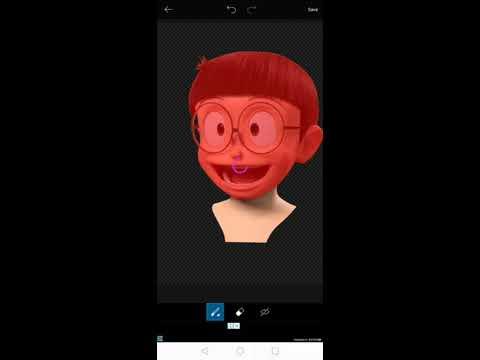 Tutorial Nobita 3d Head Using Picsart Downloadlink Youtube