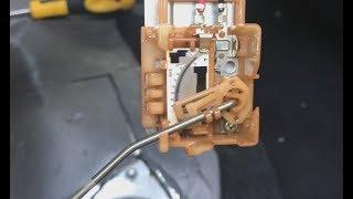 калибровка, чистка датчика уровня топлива ( cleaning fuel level sensor)