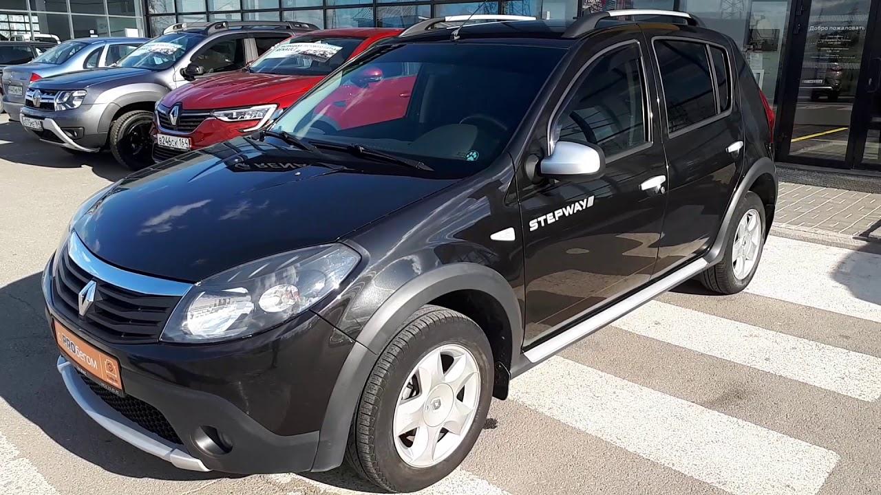 Балаково Renault Sandero Stepway 2013 Черный