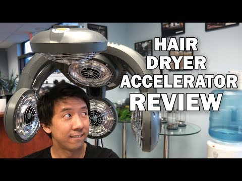 HAIR DRYER ACCELERATOR INFRARED HAIR COLOR PROCESSOR | BEAUTY SALON EQUIPMENT