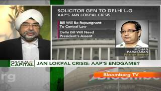 "Political Capital- ""Lokpal Bill Should Seek President"