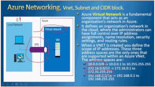 AzureTalk   Azure Networking   Session 1