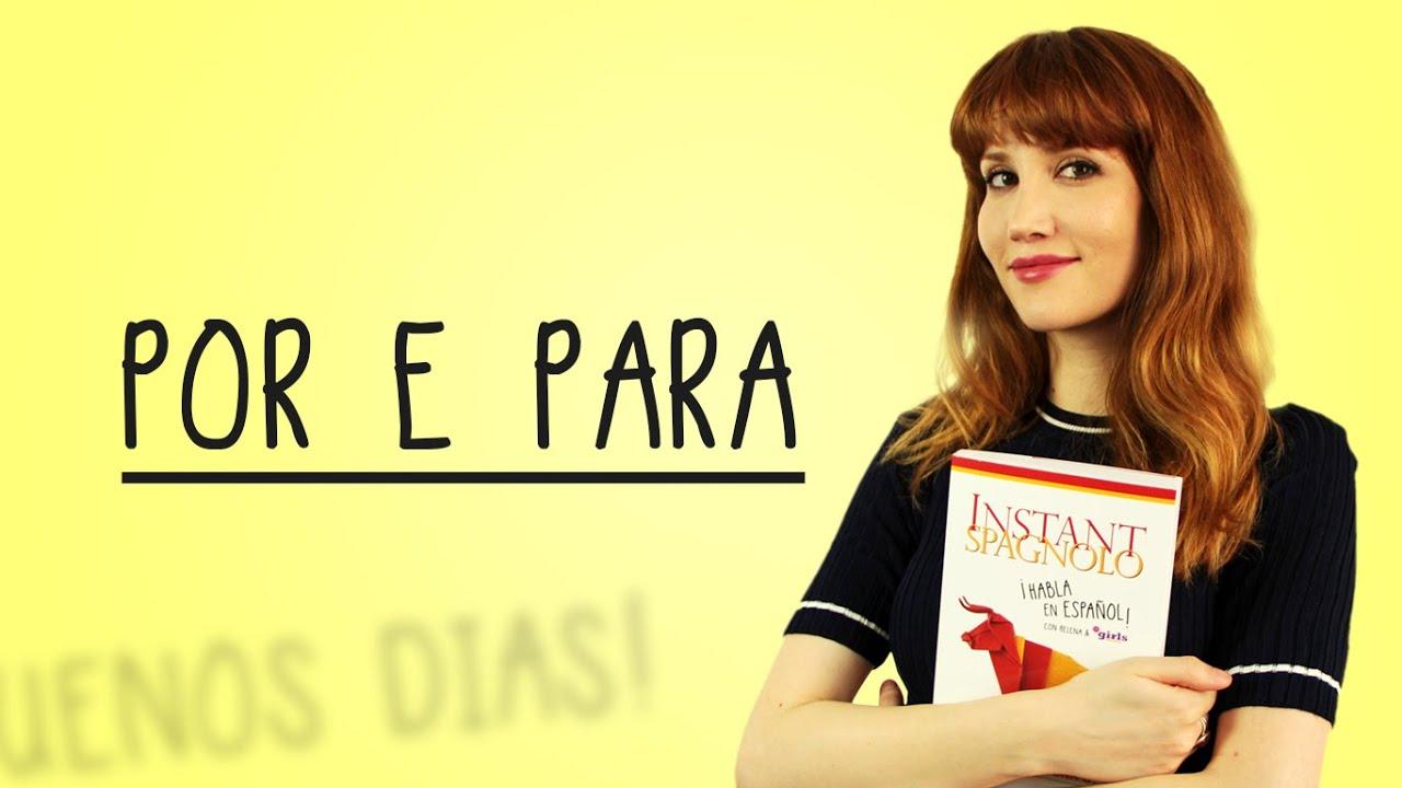 Instant Spagnolo Por Para