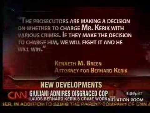 CNN: Giuliani Praises Bernie Kerik