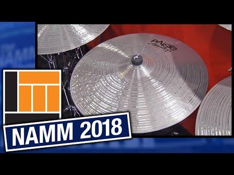 L&M @ NAMM 2018: Paiste Cymbals