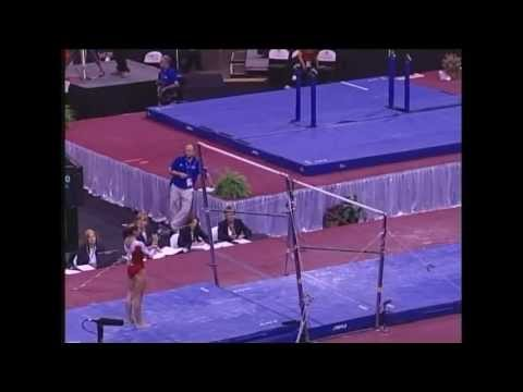 Kayla Hoffman (Rebound) - 2006 US Sr Nationals - Bars (Day 2)