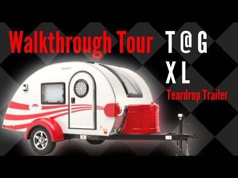 T@G Teardrop Trailer XL by nüCamp RV - Walkthrough Tour