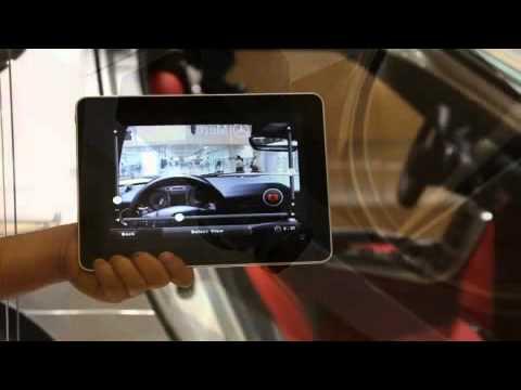 Mercedes benz sls amg jp iphone app youtube for Mercedes benz app for iphone