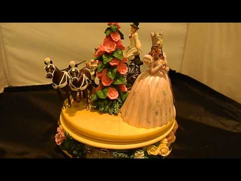 Wizard of OZ Munchkinland Carriage Figurine
