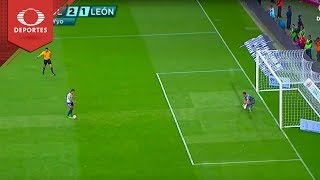 Gol de Alan Pulido | Chivas 2  - 1 León | Clausura 2019 - Jornada 16 | Televisa Deportes