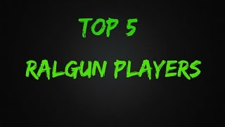 //Tanki Online// Top 5 Railgun Players//