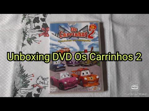 UNBOXING DVD OS CARRINHOS 2 AVENTURA EM RODÓPOLIS 2007