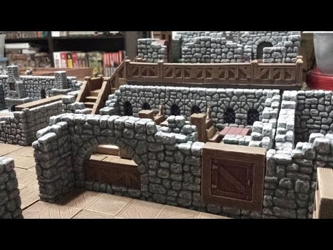Modular Inn with Hirst Arts Molds Part 13 - Update, Office Tour and Maker space