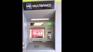Levantamento de dinheiro em caixa Multibanco 24 horas || OMG