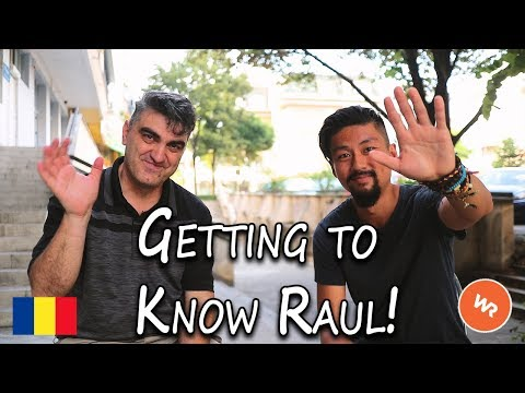 Getting To Know Raul!