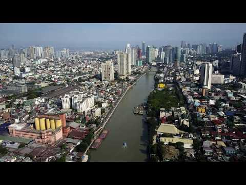 MUST WATCH TOP DJI Mavic Pro Aerial Drone Makati City to Mandaluyong CRAZY in 4K