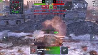 WoT Blitz - легендарный танк Т-34-85 gameplay #2 -World of Tanks Blitz (WoTB)
