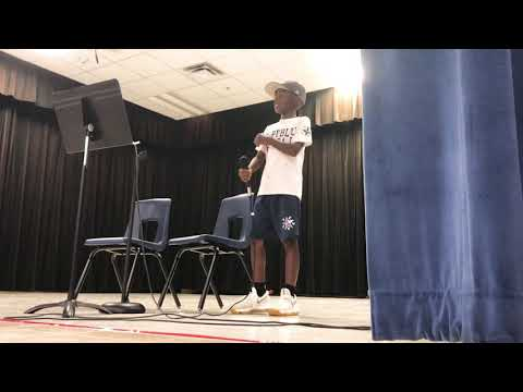 Paja Holt school talent show (Billie Jean)