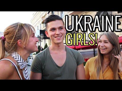What Ukrainian girls in Odessa think of foreign guys! Street Interviews