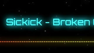 Sickick - Broken ( Visualizer Music Video ) Latest Sickick Music 2019 ( trap nation , English  CC )