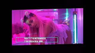 Roblox Ariana Grande 7 rings music Id