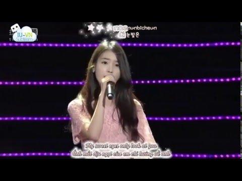 Vietsub + Kara + Engsub IU아이유   Palpitations두근두근   Producers Shanghai Fanmeeting