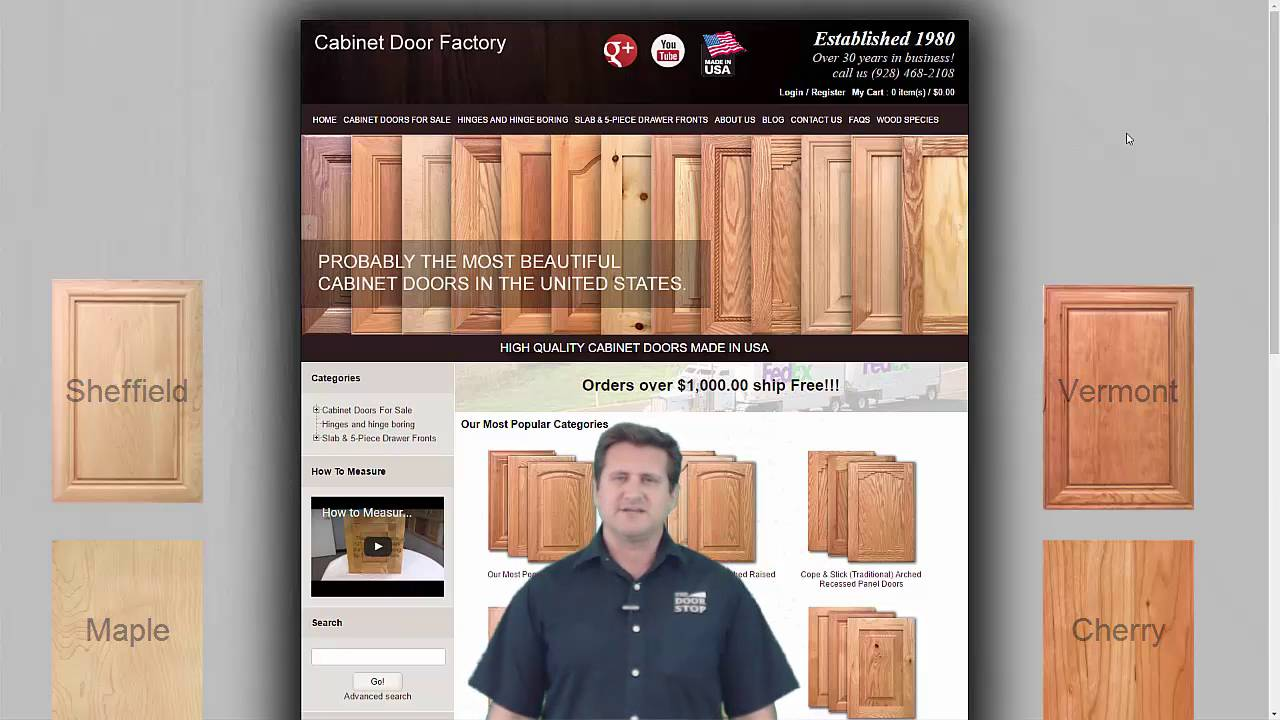 Finishing Tips For Staining Or Painting Wood Cabinet Doors Youtube