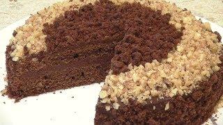 Шоколадный торт. Постный. Бюджетный вариант. Вкусный и простой в исполнении.