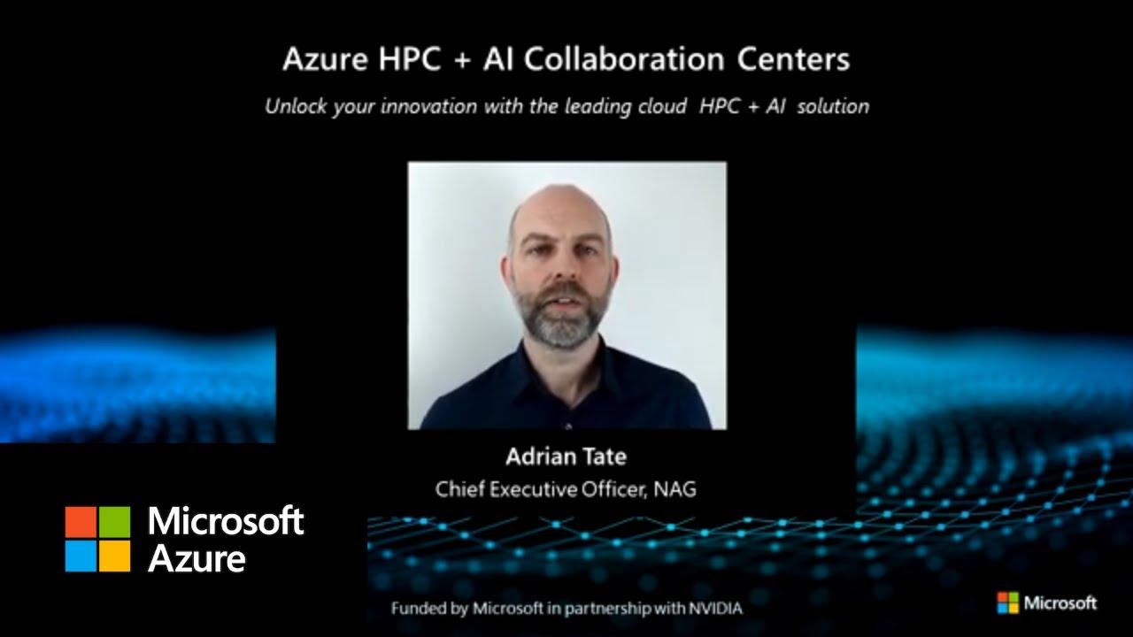 Azure HPC and AI Collaboration Center | NAG
