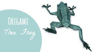 Origami Tree Frog (Robert J. Lang)