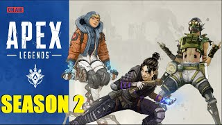 MANY WINS AND A DONATION WAR! APEX LEGENDS SEASON 2 LIVE