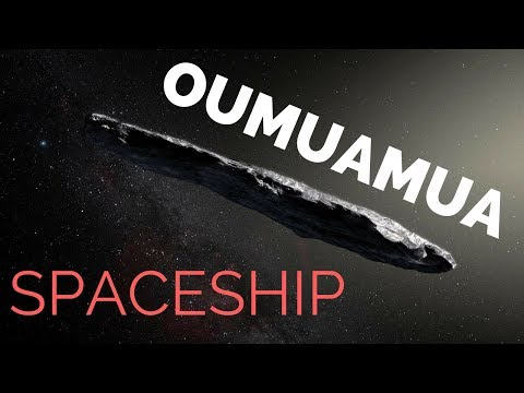 Interstellar Asteroid ( Oumuamua ) Spaceship ?