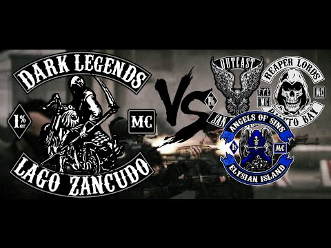 Dark Legends MC vs Support Clubs