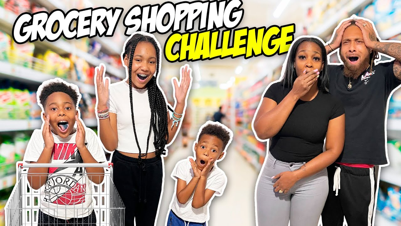 PARENTS CAN'T SAY NO! GROCERY SHOPPING HAUL *bad idea*