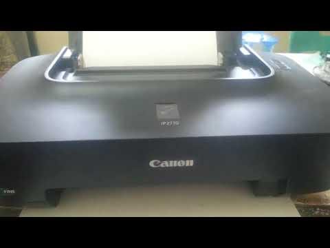 Cara Tes Warna dan Cara Cleaning Manual Langsung dari Tombol di Printer Canon IP2770.