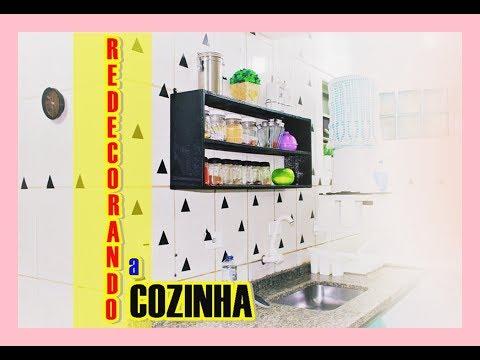 decorando a cozinha de forma simples e gastando pouco