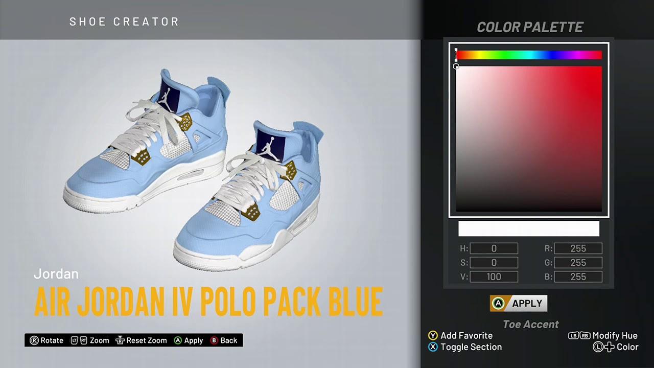 jordan 4 polo pack blue release date