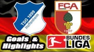 Hoffenheim vs Augsburg - 2018-19 Bundesliga Highlights #11