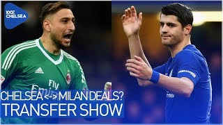 DONNARUMMA TO CHELSEA - MORATA TO MILAN?! || RUGANI & GOLOVIN IMMINENT!? || THE TRANSFER SHOW