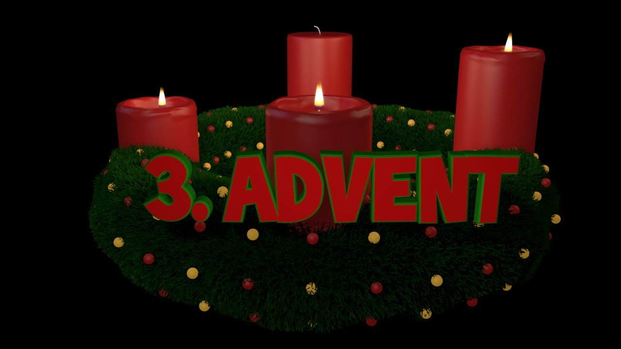 3 s ndag i advent konkurrence youtube