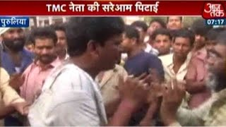 Angry Mob Attacks TMC Trade Union Leader In West Bengal